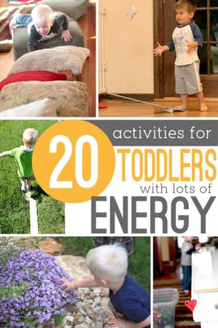 Physical Activities For Toddlers That Have A Lot Of Energy