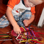 Pipe Cleaner Activity to Keep Kids Busy