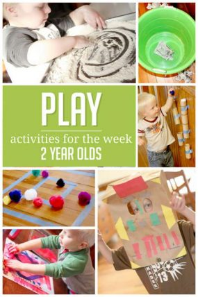 A week of simple activities to do with 2 year oldsA week of simple activities to do with 2 year olds