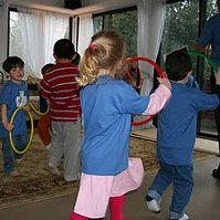Hula hoops! 30 Gross Motor Activities for Kids!