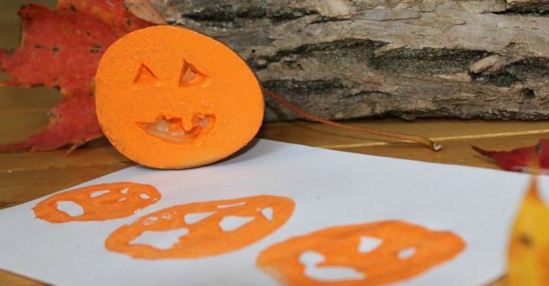Potato Stamping Jack O Lantern Faces Hands On As We Grow 174