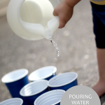 Pouring Water for Toddlers [Life Skill to Learn]