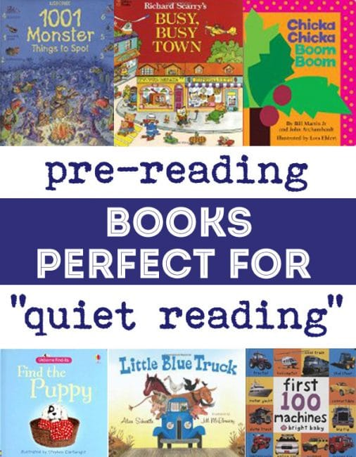 Pre-Reading Books Perfect for Quiet Reading