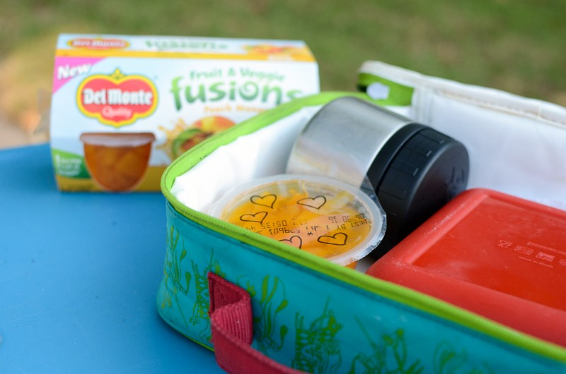 Simple way to include little notes in the kids' lunches!