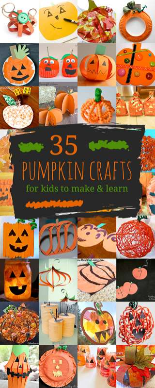 Lots Of Pumpkin Crafts For Kids To Create Including Pumpkins With Jack O
