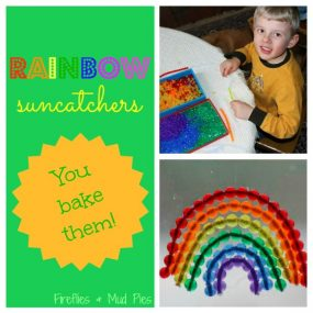 Rainbow Suncatchers