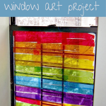 Rainbow Window Art for Kids to Make That's Gorgeous!
