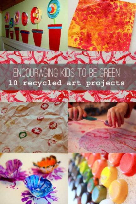 Encourage kids to be green 10 recycled art projects for kids recycled art projects for kids thecheapjerseys Choice Image