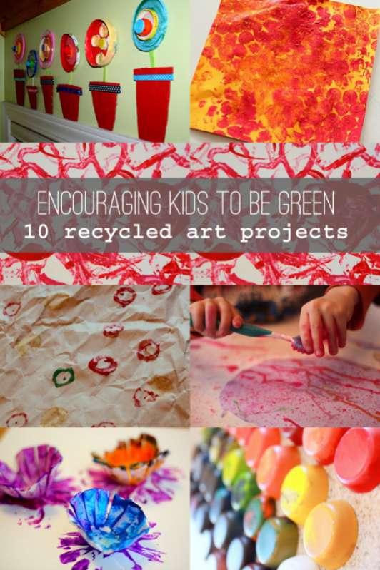 Kids Recycled Art Projects