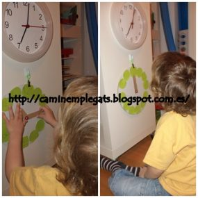 Discovering Time from Caminem Plegats