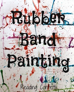 Rubber Band Painting