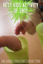 Best kids activity of 2013 on handsonaswegrow.com
