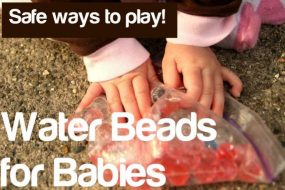 Water Beads for Little Ones from Nothing if Not Intentional