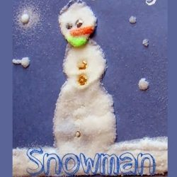 Salty Snowman Craft