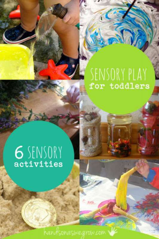 6 Sensory Activities for Toddlers to Explore