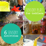 6 Sensory Activities for Toddlers to Explore with All 5 Senses