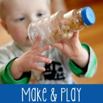 Quick Make & Play Edible Sensory Bottle