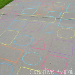 Learn shapes in a maze