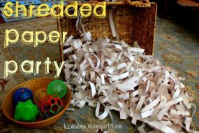 Paper Shred Play!