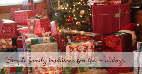 More simple family Christmas traditions to try together -- just keep it low key and less stress