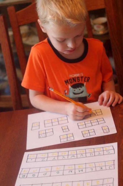 Solve a Simple Secret Code for Kids