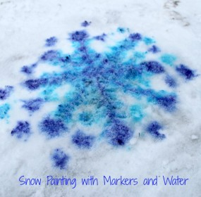 snow-painting-with-markers