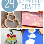 24 Snowman Crafts for Kids