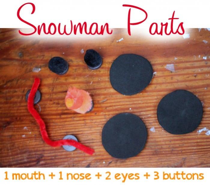 snowman-parts