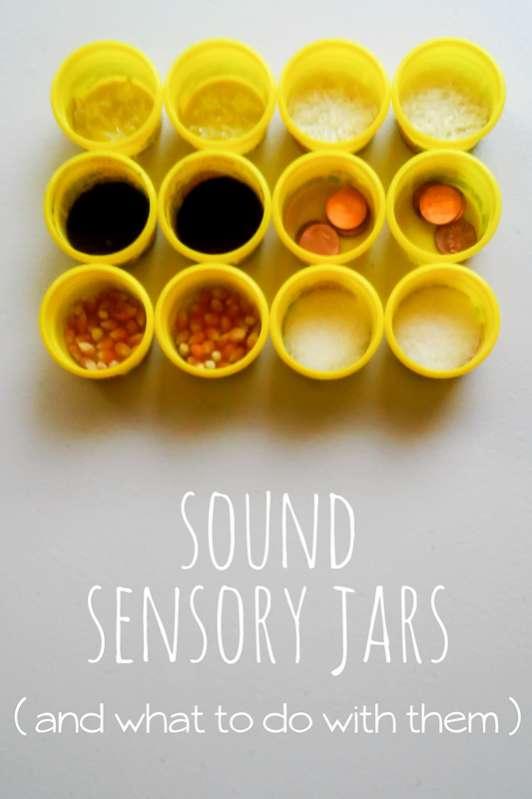 Easy Sound Sensory Jars to Make & Play | Hands On As We Grow