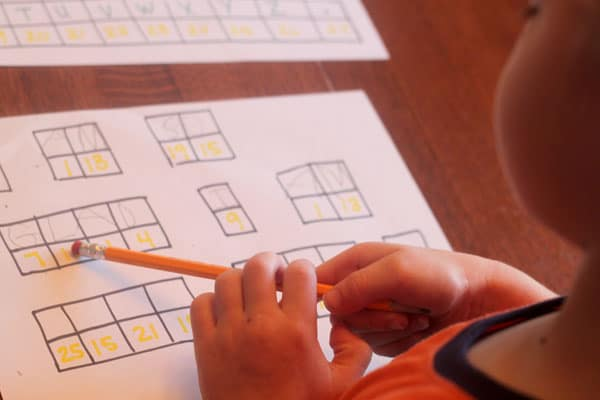 Decipher a simple secret code for kids learning to read