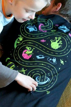 Car Play Mat T-Shirt Gift + BKY Kid Giveaway