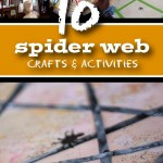 10 Not-So-Frightful Spider Web Crafts & Activities