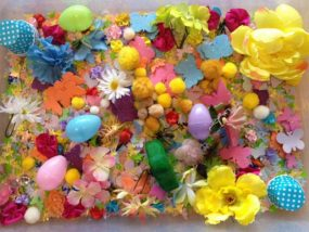 Spring and Easter Sensory Tub