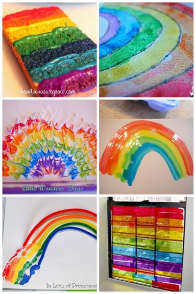 Rainbow Art Projects For Kids To Make