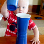 Toddler Activity: Playing with Cups