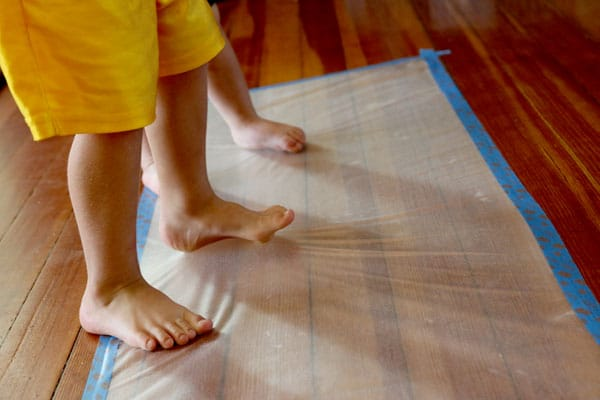 Sticky sensory art activity for toddlers hands on as for Cardboard activities for toddlers