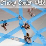 A Sticky Spider Web Activity for Kids!