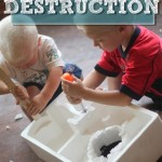 A Busy Play Activity: Styrofoam Destruction