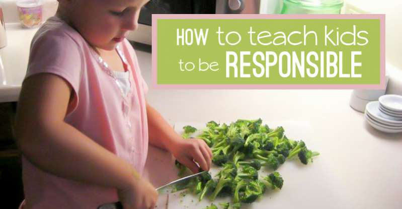 How to Teach Kids Responsibility | Hands On As We Grow®
