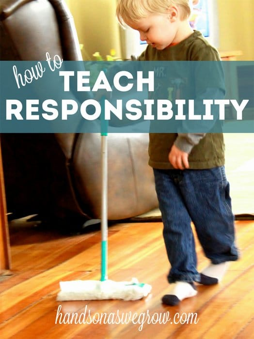 How to teach responsibility