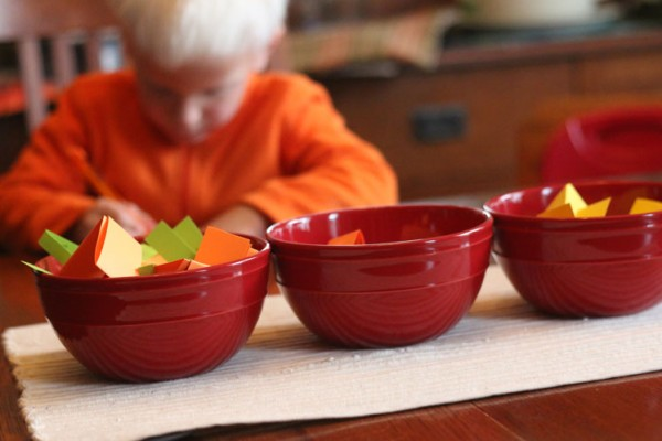 Thanksgiving conversation starters for kids that are young and just grasping onto the concept of being thankful