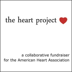 the heart project ebook, fundraiser for the American Heart Association