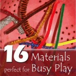Lots of Busy Play Ideas to Keep Kids Busy