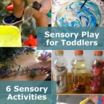 6 Toddler Sensory Activities on It's Playtime!