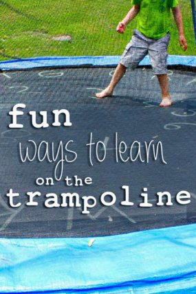 Fun Trampoline Games for Learning Letters
