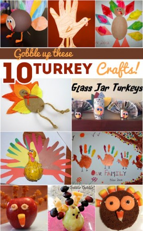 Turkey Thanksgiving Crafts for Kids