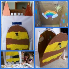 Decorate a Castle from Edventure with Kids