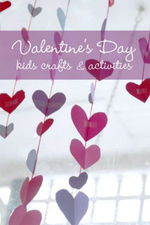 Valentine 39 s day crafts activities for kids for Valentines day toddler crafts