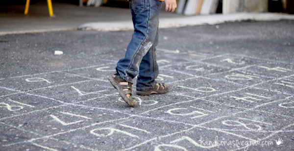 Walk through a counting maze