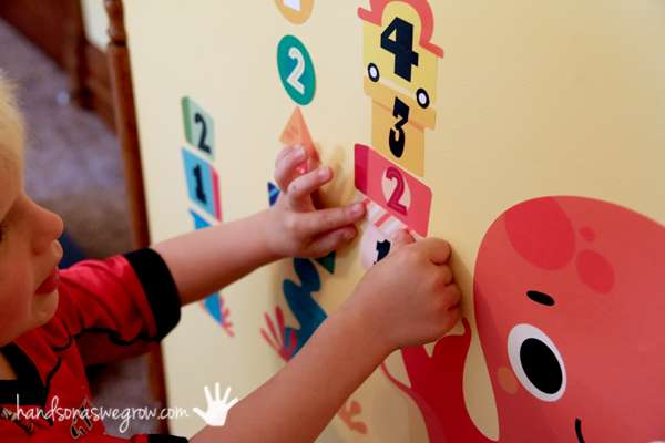 Remove a number, what one's missing? A fun game for preschoolers learning numbers!